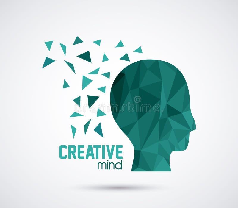 Δημιουργικές μυαλά και ιδέες απεικόνιση αποθεμάτων