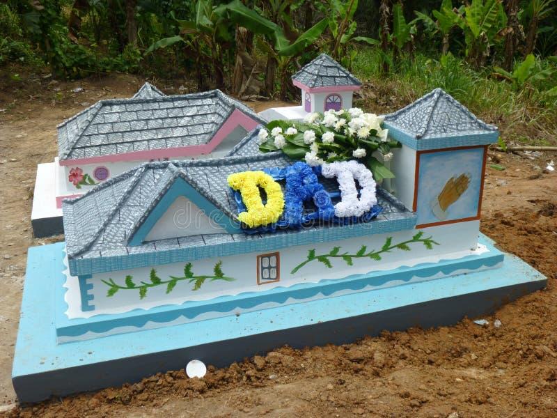 Δημιουργικές ταφόπετρες νησιών στοκ εικόνες