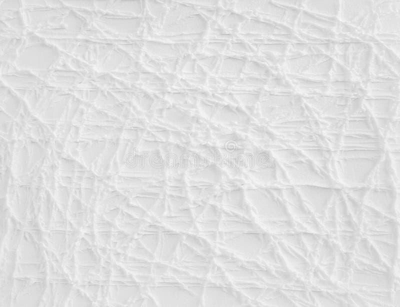 Δημιουργική άσπρη αφηρημένη σύσταση στοκ εικόνα με δικαίωμα ελεύθερης χρήσης