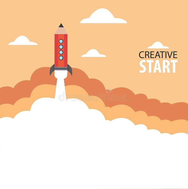 Δημιουργική έναρξη στοκ εικόνα με δικαίωμα ελεύθερης χρήσης