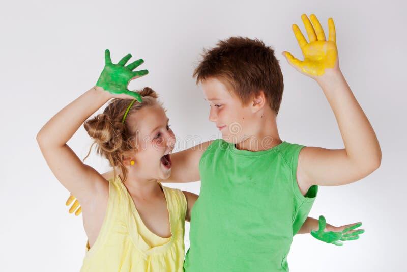 Δημιουργική έννοια παιδιών Σχεδιασμός, στοιχειώδης στοκ φωτογραφία με δικαίωμα ελεύθερης χρήσης