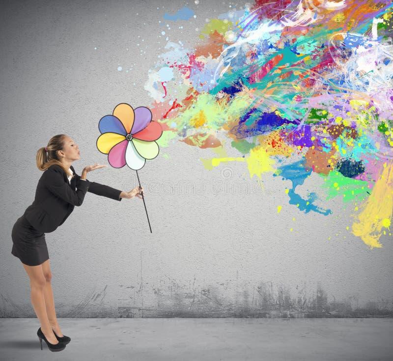Δημιουργική επιχείρηση στοκ εικόνες με δικαίωμα ελεύθερης χρήσης