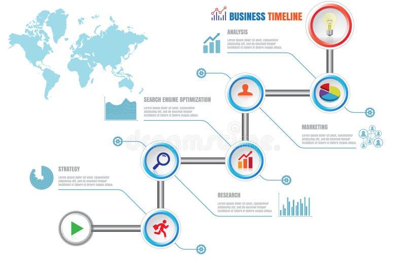 Δημιουργική επιχειρησιακή υπόδειξη ως προς το χρόνο, διανυσματική απεικόνιση απεικόνιση αποθεμάτων