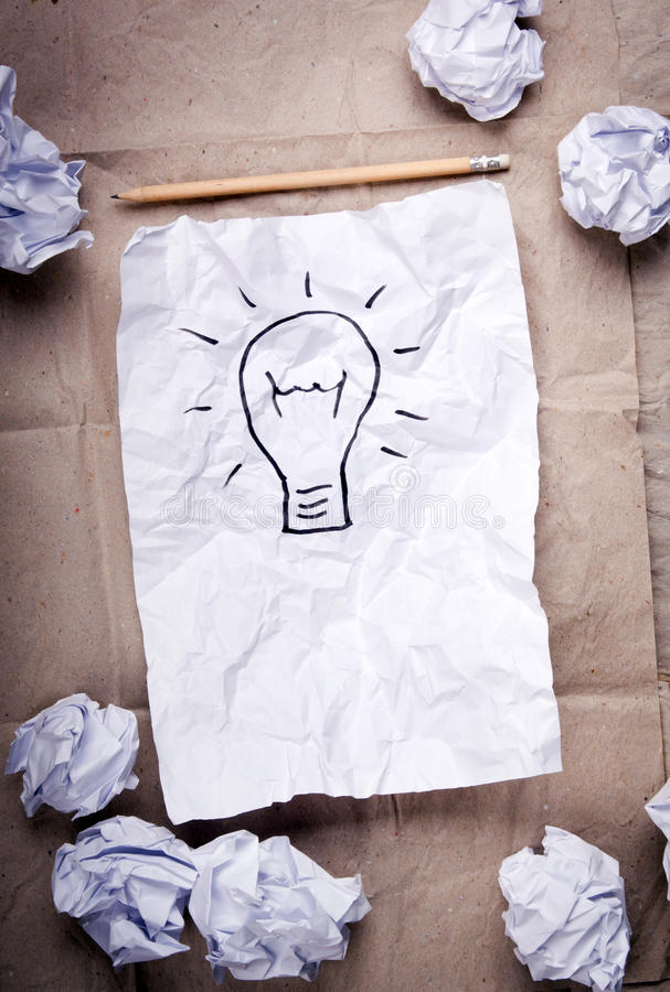 δημιουργική ιδέα έννοιας στοκ εικόνες