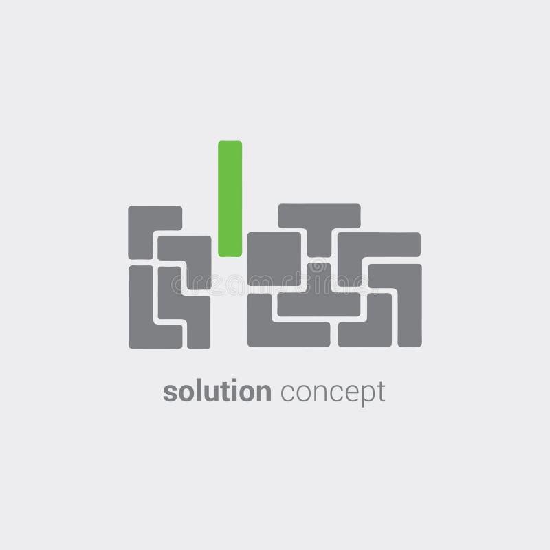 Δημιουργική λύση για την επιχειρησιακές υποστήριξη και την ανάπτυξη Σύνολο εργαλείων για την έρευνα μάρκετινγκ Χρήση για το λογότ ελεύθερη απεικόνιση δικαιώματος