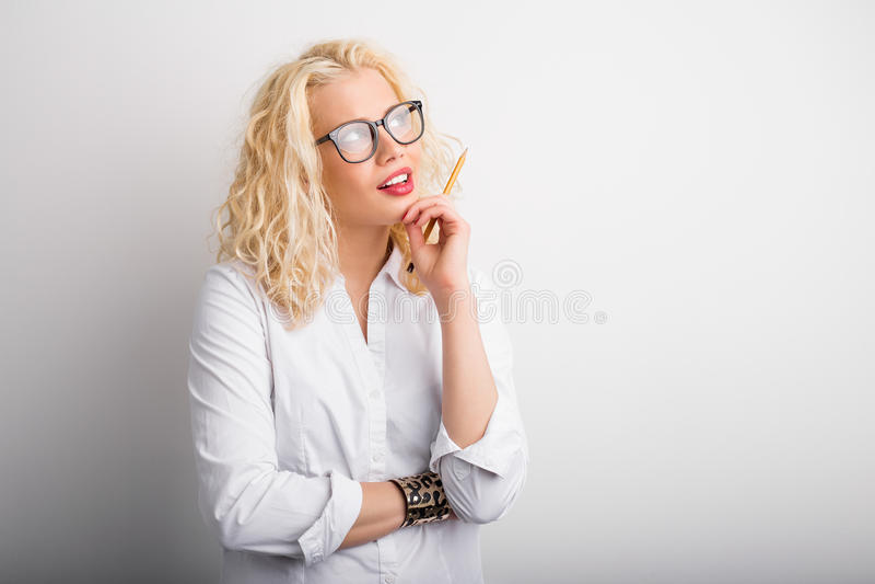 Δημιουργική σκέψη επιχειρησιακών γυναικών στοκ εικόνες