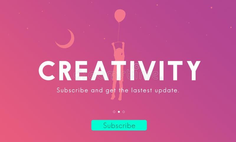 Δημιουργική φρέσκια γραφική έννοια καινοτομίας ιδεών διανυσματική απεικόνιση