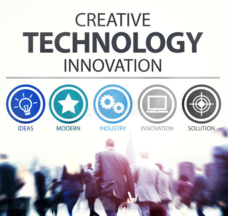 Δημιουργική ψηφιακή έννοια μέσων καινοτομίας τεχνολογίας στοκ φωτογραφία με δικαίωμα ελεύθερης χρήσης