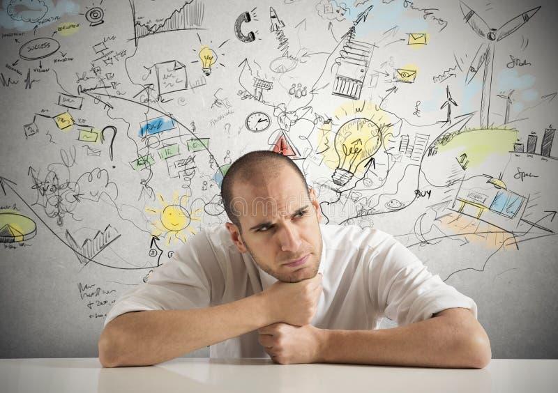 Δημιουργικός επιχειρηματίας στοκ φωτογραφίες