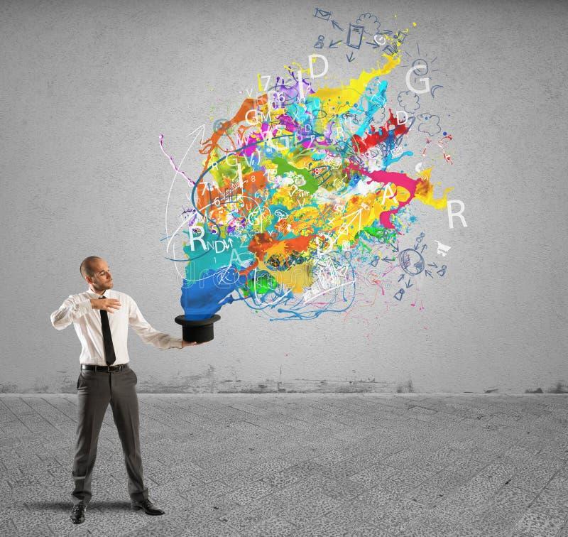 Δημιουργικός επιχειρηματίας στοκ εικόνες με δικαίωμα ελεύθερης χρήσης