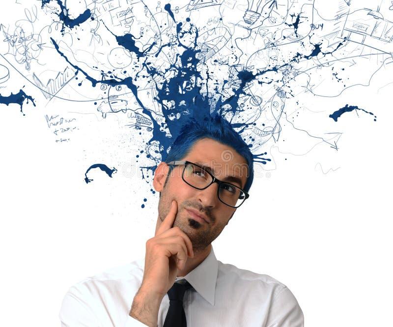 Δημιουργικός επιχειρηματίας στοκ εικόνα με δικαίωμα ελεύθερης χρήσης
