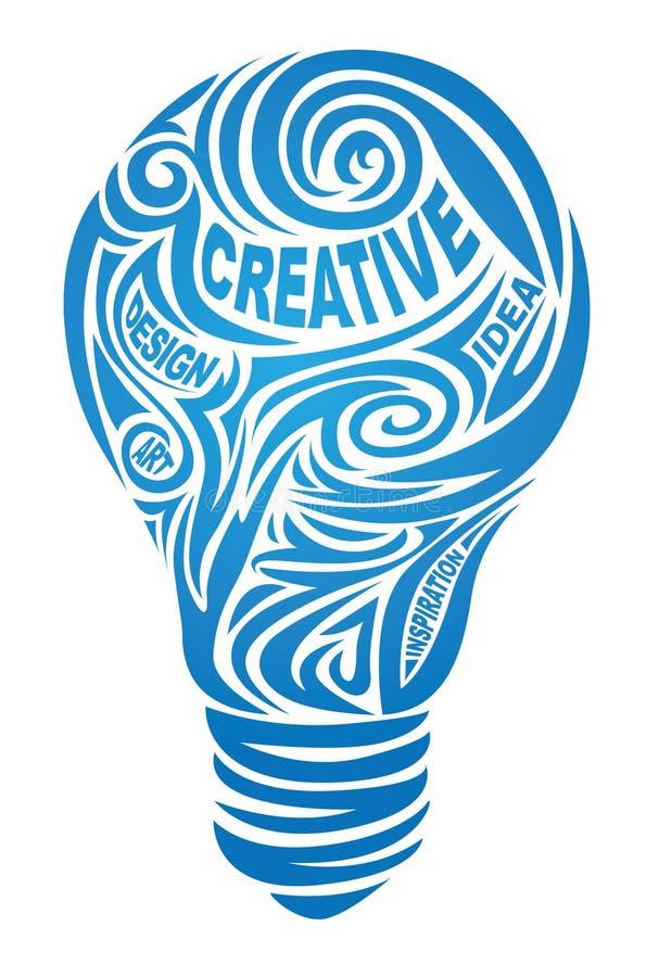 δημιουργικός λαμπτήρας ελεύθερη απεικόνιση δικαιώματος
