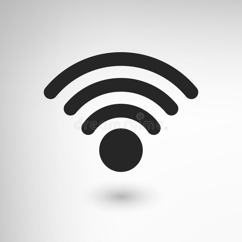 Δημιουργικό εικονίδιο WiFi απεικόνιση αποθεμάτων