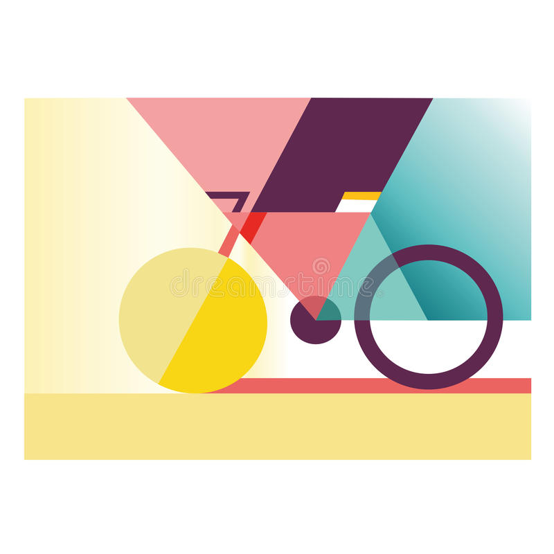 Δημιουργικό ποδήλατο στοκ φωτογραφία με δικαίωμα ελεύθερης χρήσης