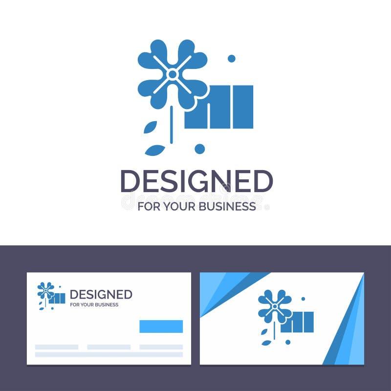 Δημιουργικό πρότυπο Anemone, λουλούδι, διανυσματική απεικόνιση επαγγελματικών καρτών και λογότυπων λουλουδιών ανοίξεων διανυσματική απεικόνιση
