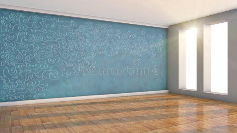 Δημιουργικό δωμάτιο απεικόνιση αποθεμάτων