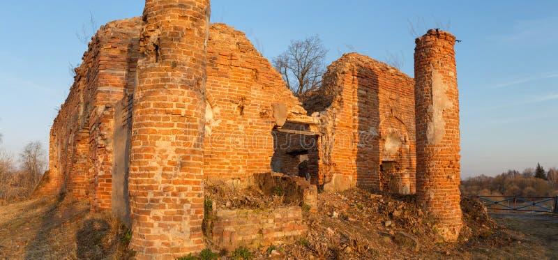 Δημοκρατία της Λευκορωσίας, περιοχή Gomel, πόλη του Korma Εκκλησία Kormyanskaya Άγιος Βασίλης στοκ εικόνα