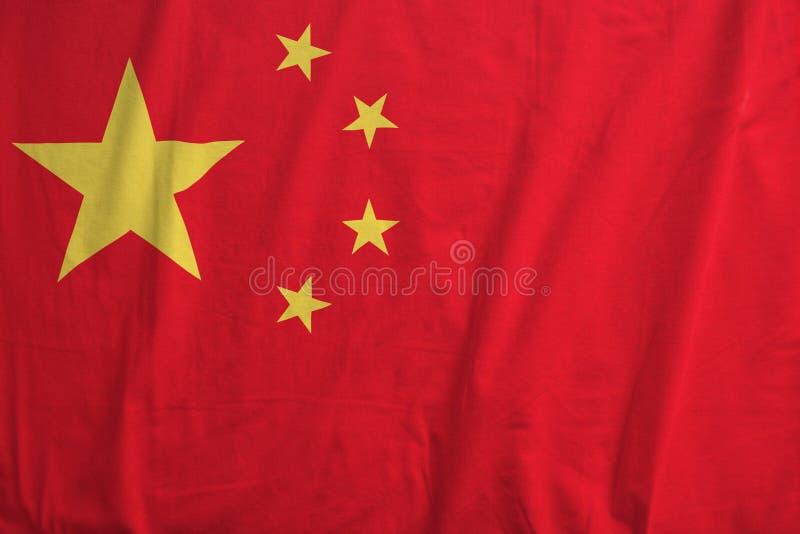 Δημοκρατία της σημαίας της Κίνας στοκ εικόνες