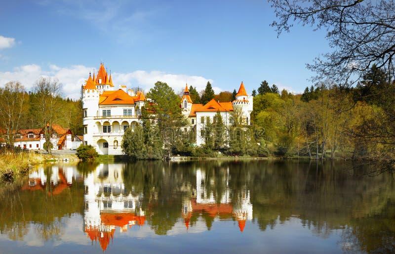 Δημοκρατία της Τσεχίας πύργων του Castle στοκ φωτογραφίες