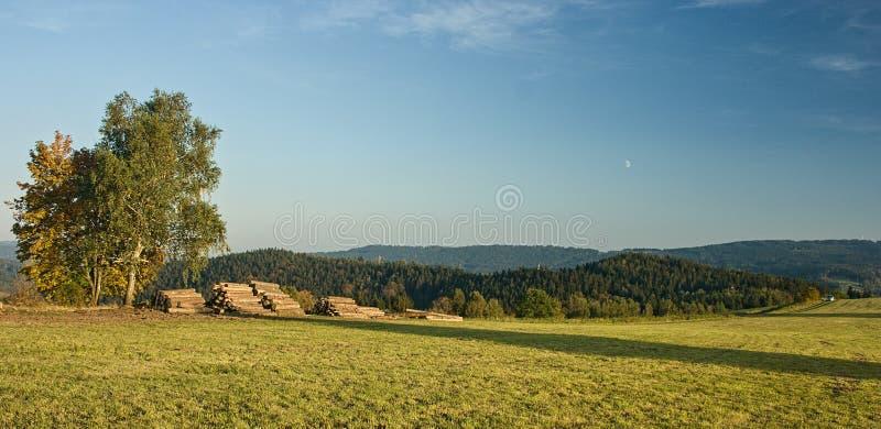 Δημοκρατία της Τσεχίας - NAD Nisou και περίχωρα Jablonec στοκ φωτογραφία με δικαίωμα ελεύθερης χρήσης