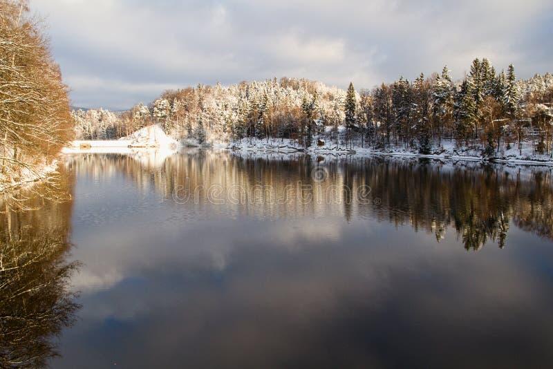 Δημοκρατία της Τσεχίας - NAD Nisou και περίχωρα Jablonec στοκ φωτογραφίες με δικαίωμα ελεύθερης χρήσης