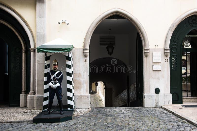 Δημοκρατική εθνική φρουρά, Λισσαβώνα, Πορτογαλία στοκ εικόνες με δικαίωμα ελεύθερης χρήσης