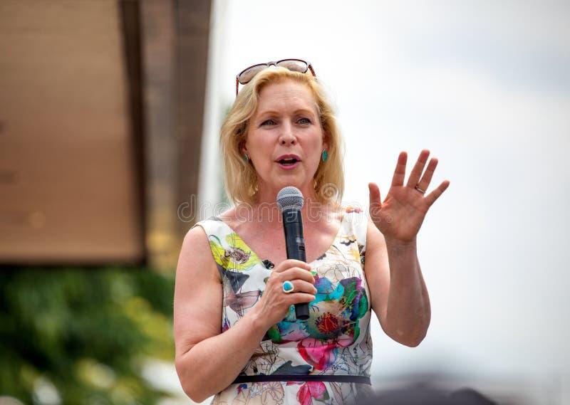 Δημοκρατικός γερουσιαστής Kirsten Gillibrand στοκ εικόνες με δικαίωμα ελεύθερης χρήσης