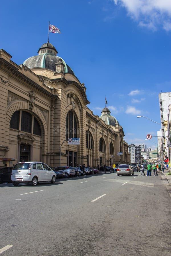 Δημοτική αγορά Βραζιλία του Σάο Πάολο στοκ φωτογραφία