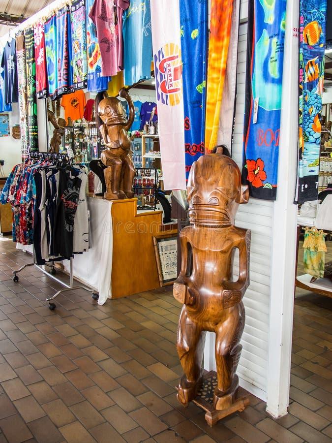 Δημοτική αγορά Papeete, Ταϊτή, γαλλική Πολυνησία στοκ φωτογραφίες με δικαίωμα ελεύθερης χρήσης