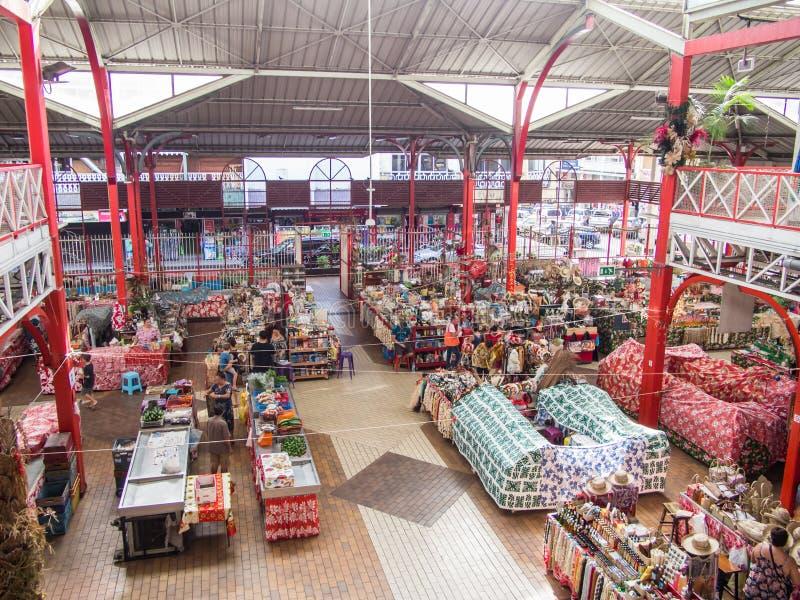 Δημοτική αγορά Papeete, Ταϊτή, γαλλική Πολυνησία στοκ φωτογραφία με δικαίωμα ελεύθερης χρήσης