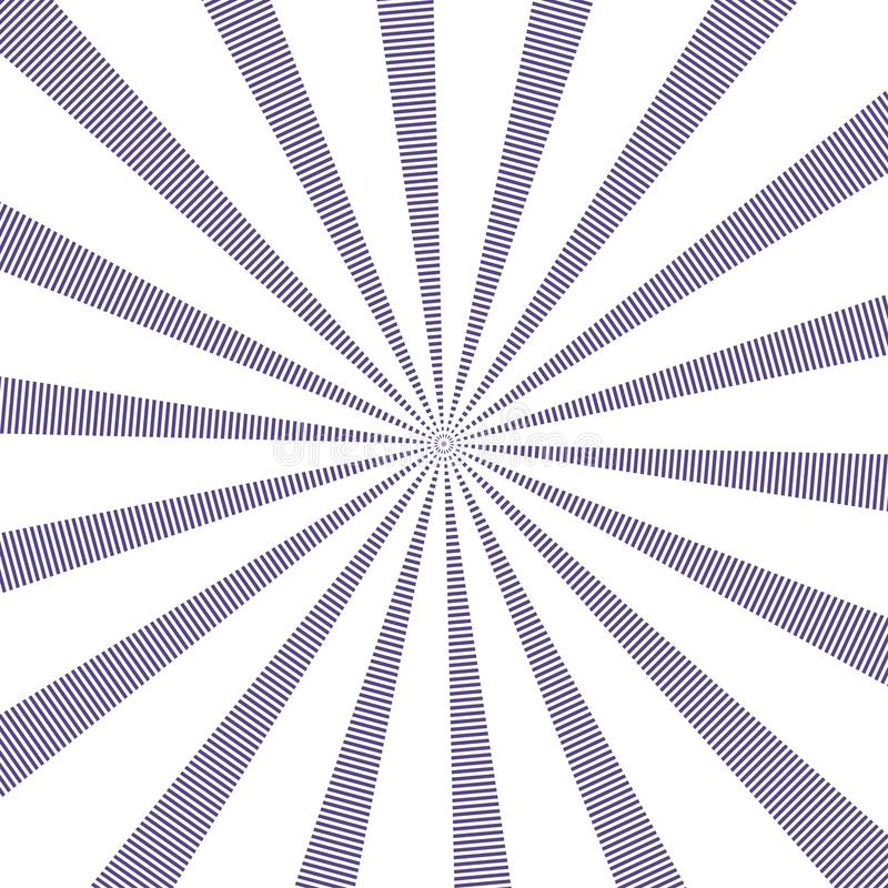 Δημοφιλές διανυσματικό υπεριώδες χρώμα υποβάθρου ακτίνων ήλιων Σχέδιο ηλιοφάνειας Δημοφιλής υπεριώδης ακτίνα έτους χρώματος 2018  ελεύθερη απεικόνιση δικαιώματος