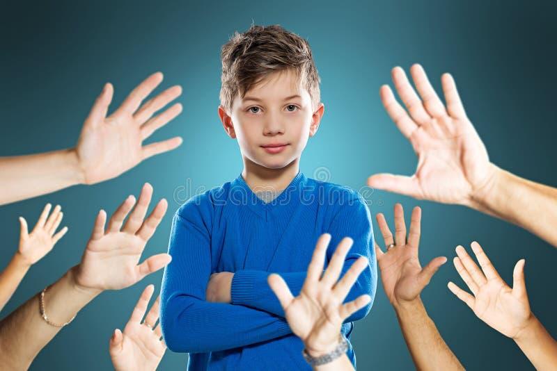 Δημοφιλές παιδί στοκ φωτογραφίες