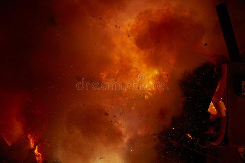Δημοφιλείς αριθμοί κινούμενων σχεδίων καψίματος φεστιβάλ Fallas στοκ εικόνες