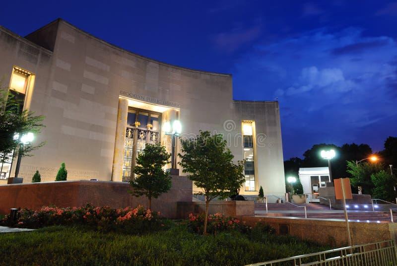 Δημόσια βιβλιοθήκη του Μπρούκλιν στοκ εικόνα με δικαίωμα ελεύθερης χρήσης