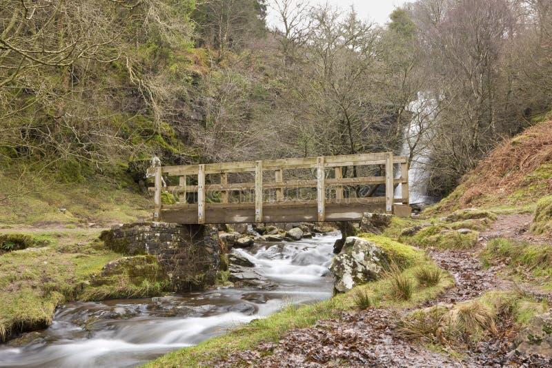 Δημόσια γέφυρα περπατήματος στοκ εικόνες με δικαίωμα ελεύθερης χρήσης
