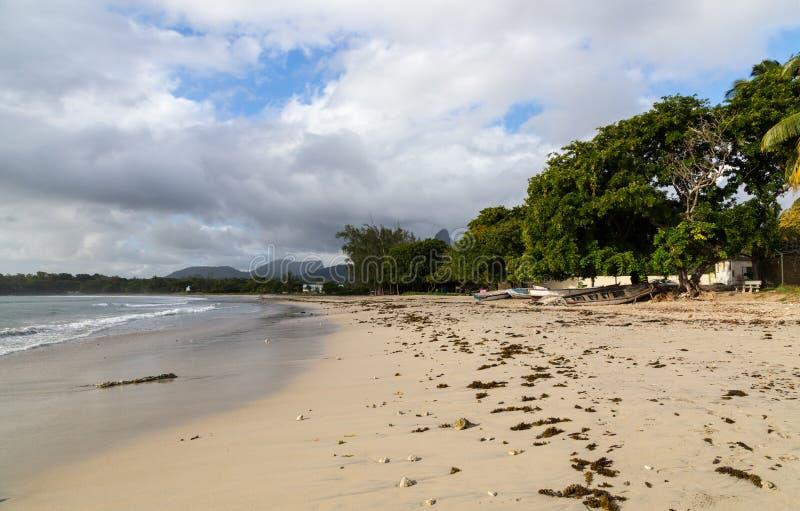 Δημόσια παραλία Tamarin Μαυρίκιος στοκ φωτογραφία με δικαίωμα ελεύθερης χρήσης