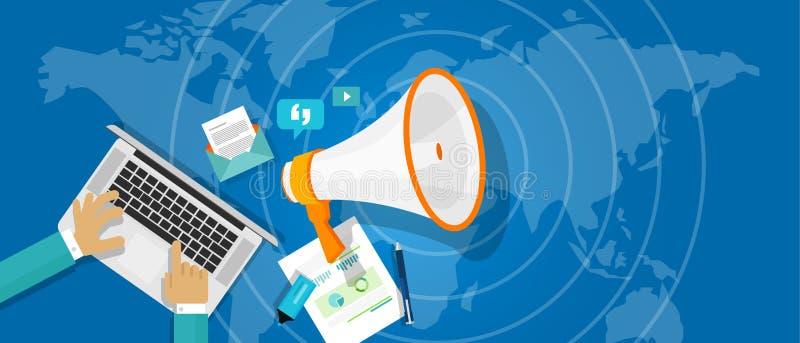 Δημόσιες σχέσεις δημόσιων σχέσεων ελεύθερη απεικόνιση δικαιώματος
