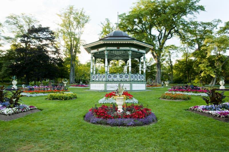 Δημόσιοι κήποι του Χάλιφαξ - Νέα Σκοτία - Καναδάς στοκ φωτογραφίες