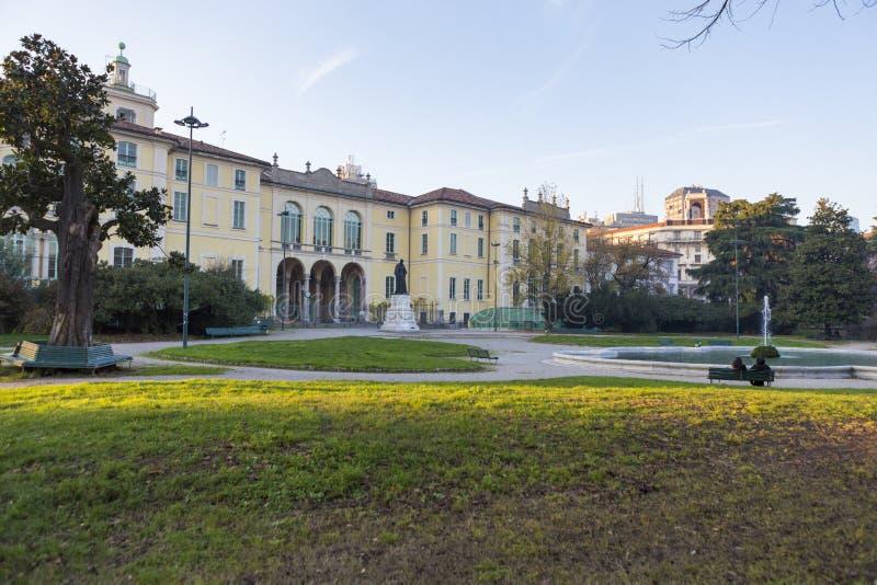 Δημόσιοι κήποι Indro Montanelli στοκ φωτογραφία