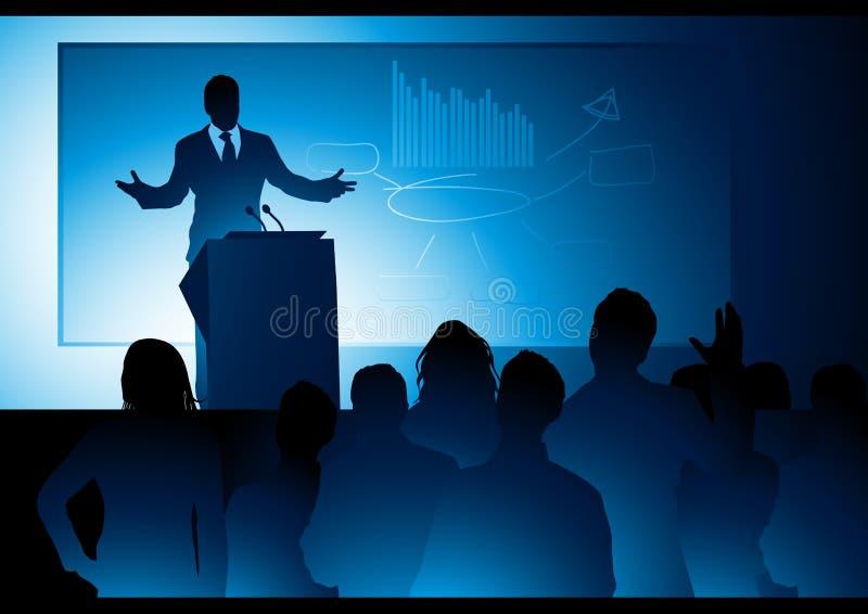 δημόσιος ομιλητής ελεύθερη απεικόνιση δικαιώματος
