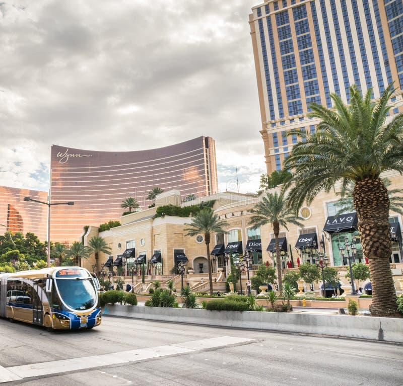 Δημόσιο μέσο μεταφοράς στο Λας Βέγκας στοκ φωτογραφία με δικαίωμα ελεύθερης χρήσης