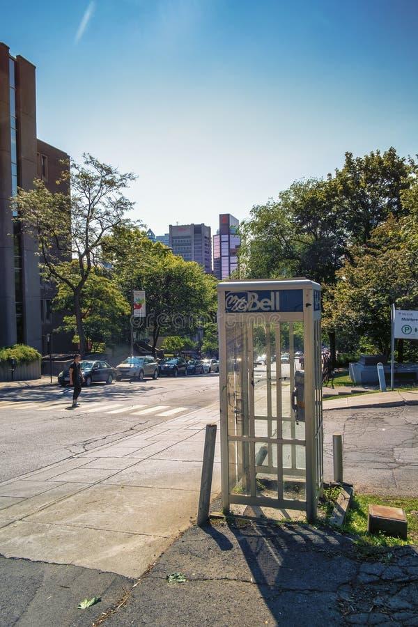 Δημόσιο τηλέφωνο κουδουνιών στοκ εικόνες