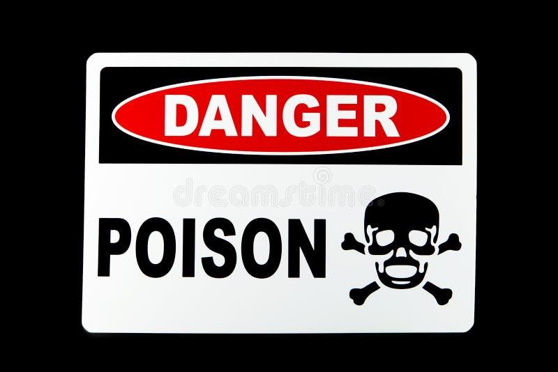 Δηλητήριο κινδύνου στοκ εικόνες