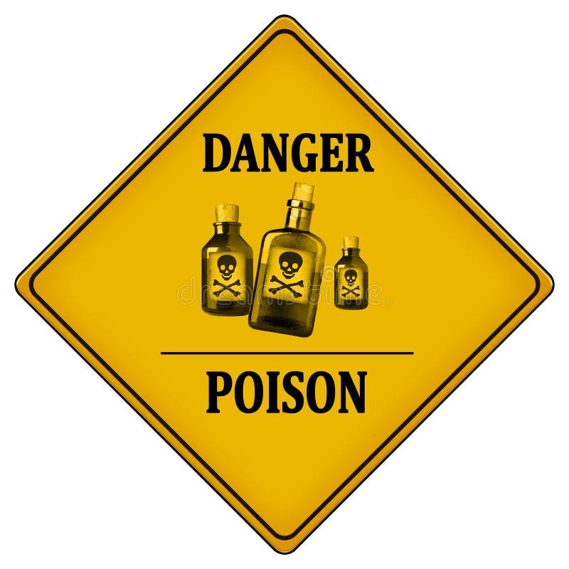 Δηλητήριο κινδύνου απεικόνιση αποθεμάτων