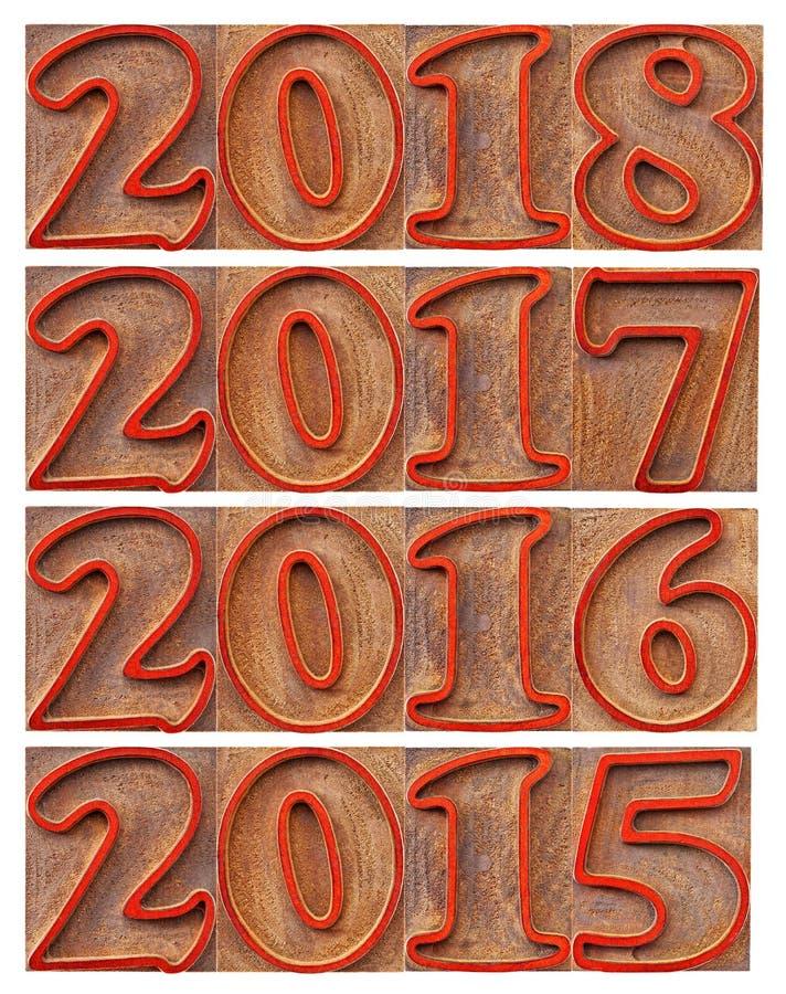 Διάβαση και εισερχόμενα έτη στοκ εικόνες με δικαίωμα ελεύθερης χρήσης