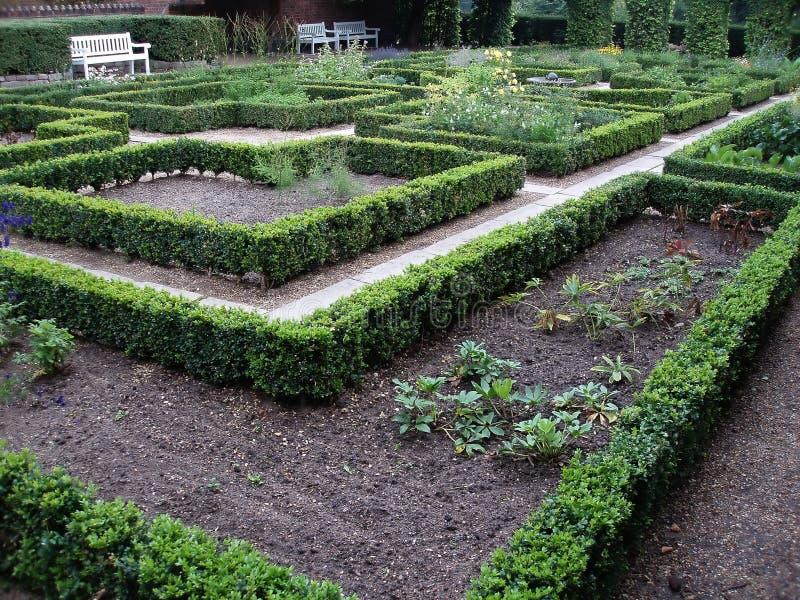 διάβαση μοναστηριών κήπων στοκ εικόνες