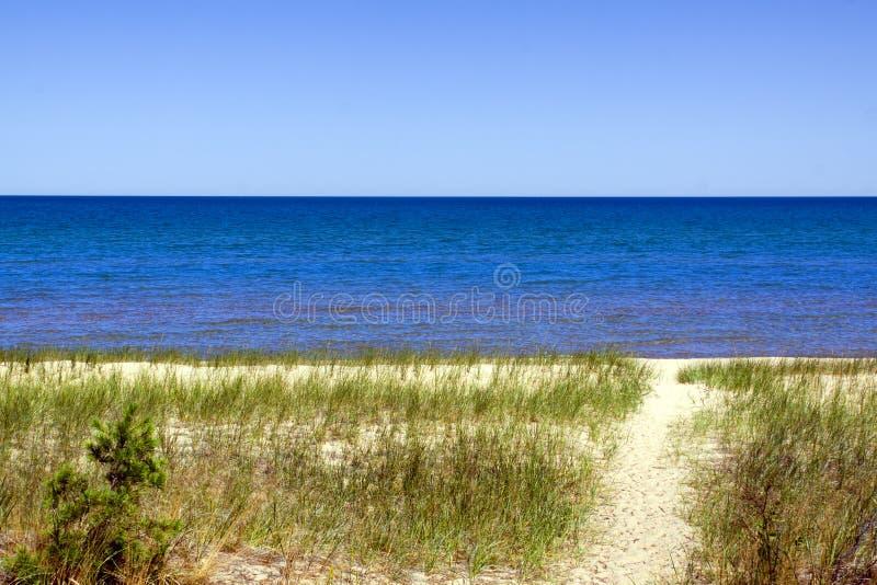 διάβαση πεζών άμμου στοκ φωτογραφία με δικαίωμα ελεύθερης χρήσης