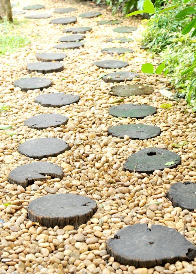 Διάβαση πεζών πετρών στοκ εικόνες