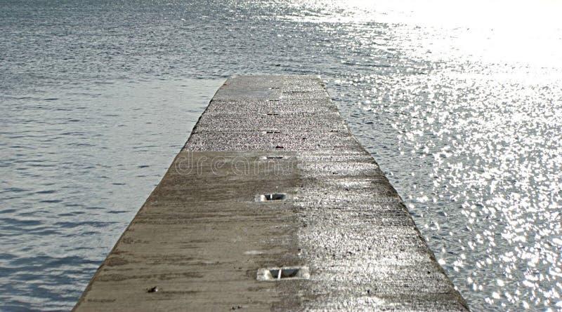 Διάβαση πεζών στη θάλασσα στοκ φωτογραφία με δικαίωμα ελεύθερης χρήσης