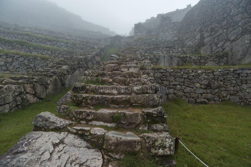 Διάβαση πετρών Incas στοκ εικόνα με δικαίωμα ελεύθερης χρήσης
